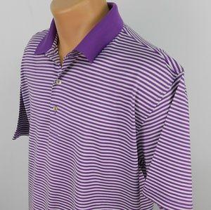 Peter Millar cotton polo shirt. L